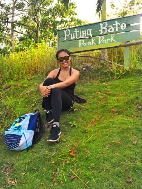 We have arrived in our destination -- Puting Bato Peak.
