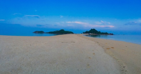 Sandbar in Bantigue Island.